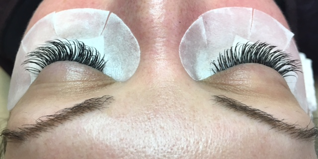 Woman After Lash Extensions
